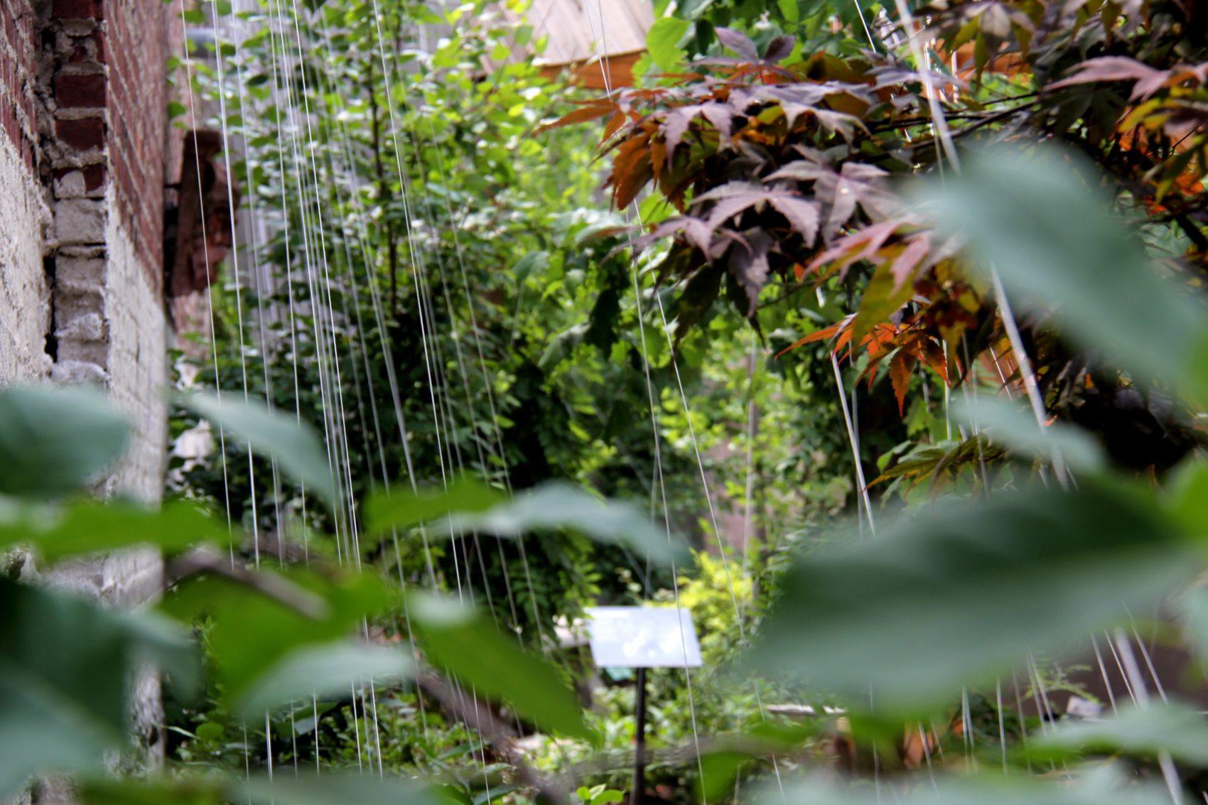 LEIMAY Works Qualia -gardens installation photos July 14th 2014. Photos by Shige Moriya - 07